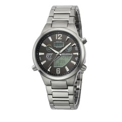 Eco Tech Time Solar Drive Funk Everest II Titan Herrenuhr EGT-11380-20M
